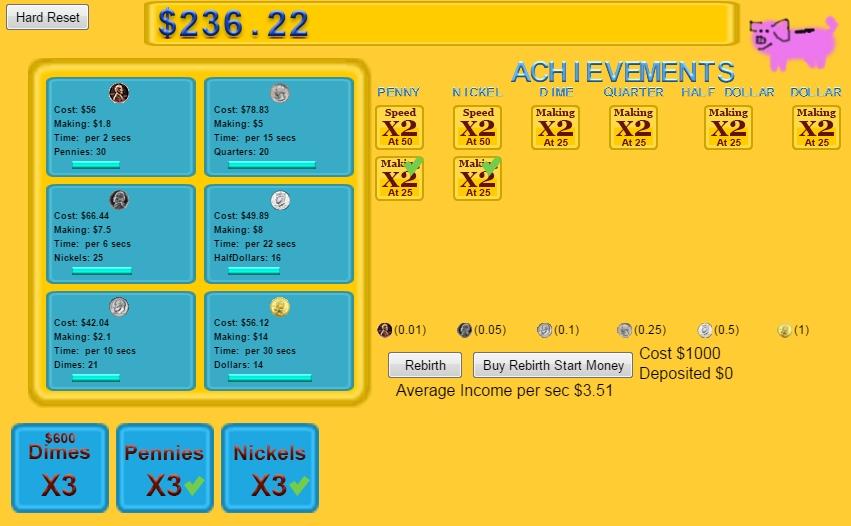 My Piggy Bank | Clicker Games