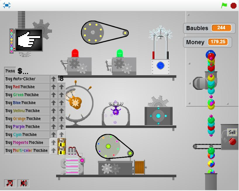 The Bauble Factory | Clicker Games