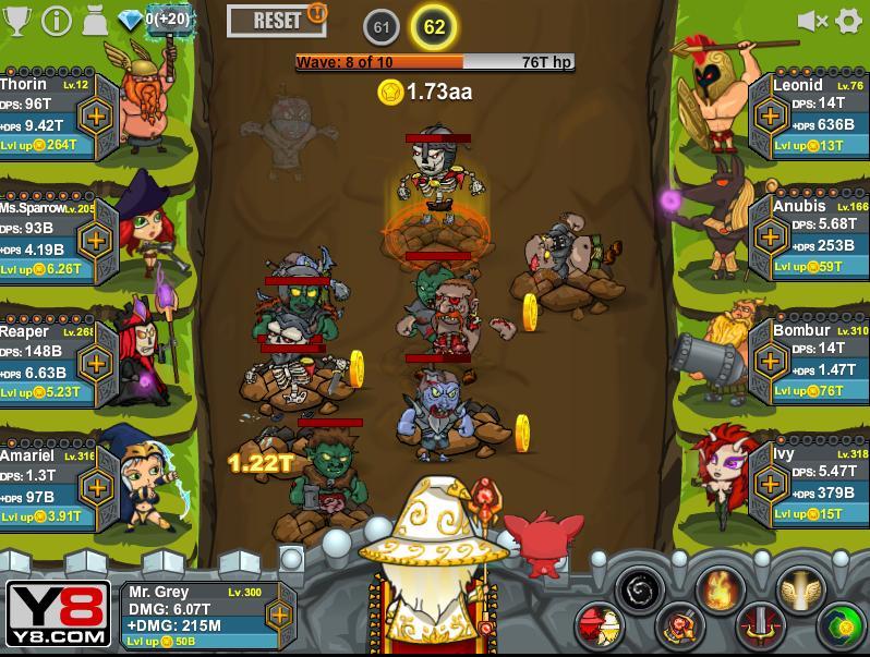 epic clicker saga of middle earth clicker games