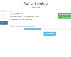 Author Simulator