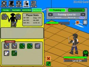 Sword Fight | Clicker Games